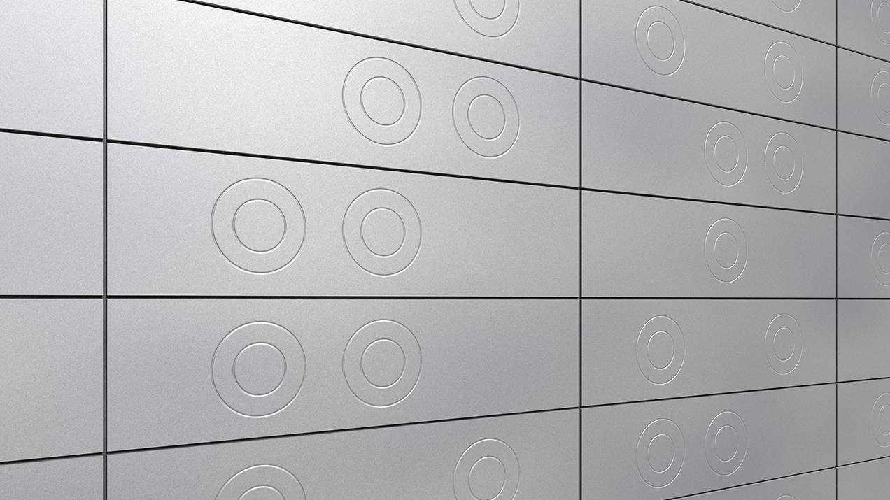 ArtMe façade design Circles