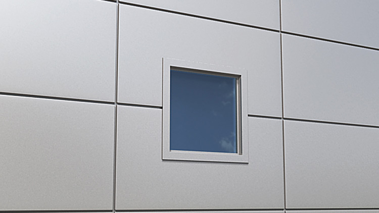 Qbiss One window with covered edges