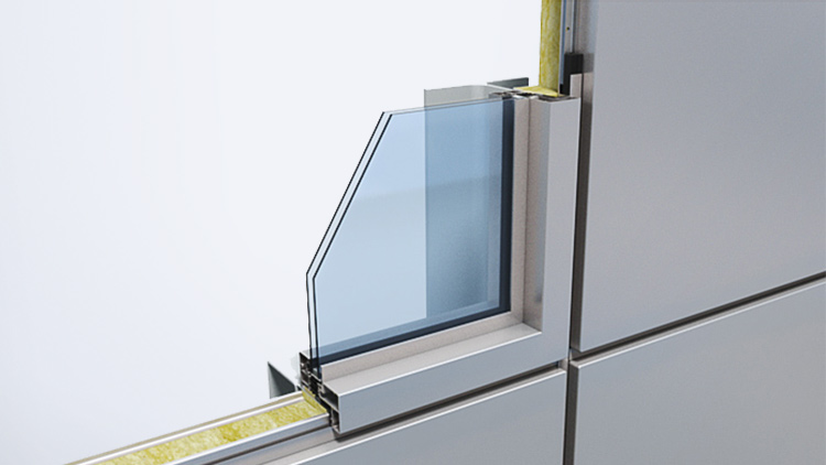 Qbiss One window with fixed glass