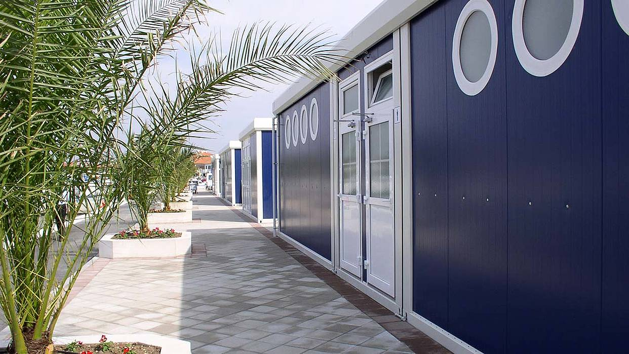 Trimo modular space solution – Marina facilities