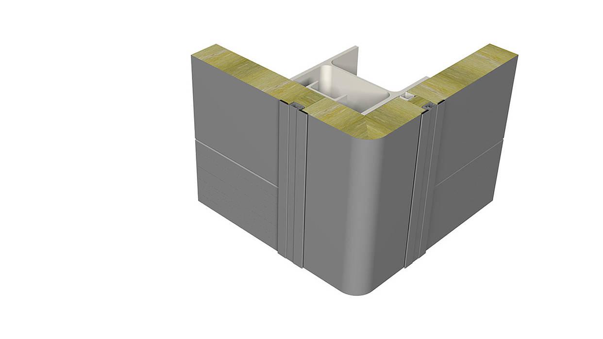 Corner element - Rounded corner
