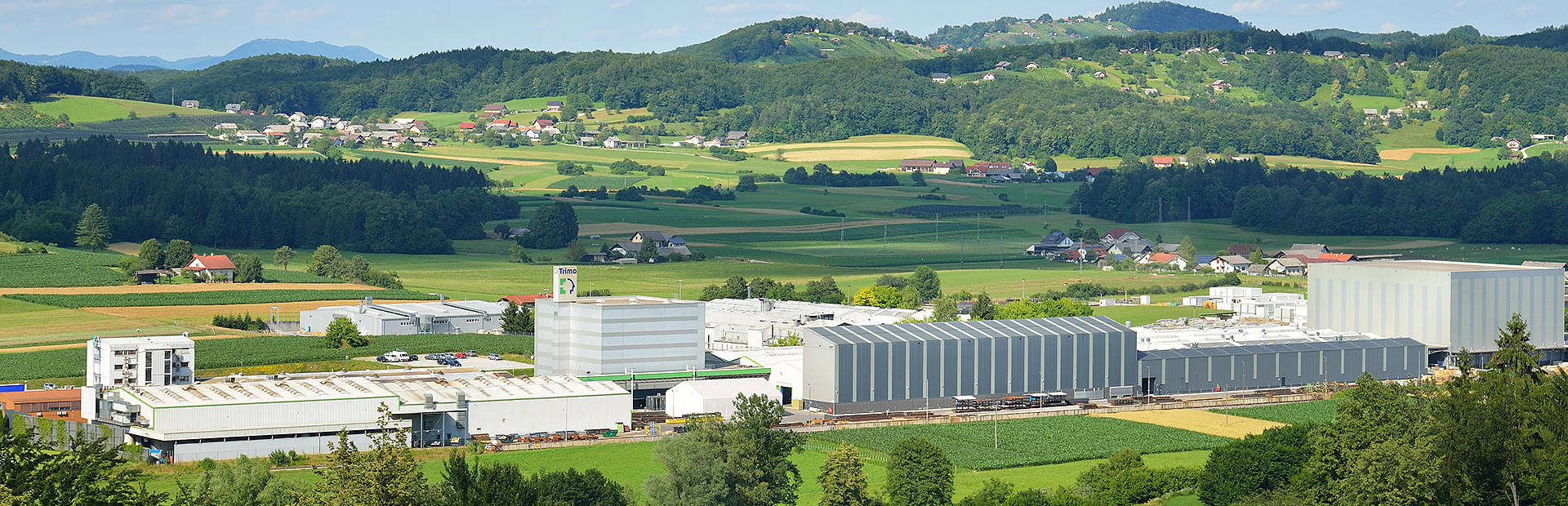 Trimo headquarter and production facilities
