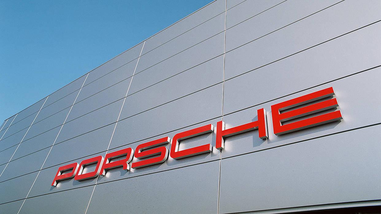 Porsche Car showroom Amsterdam