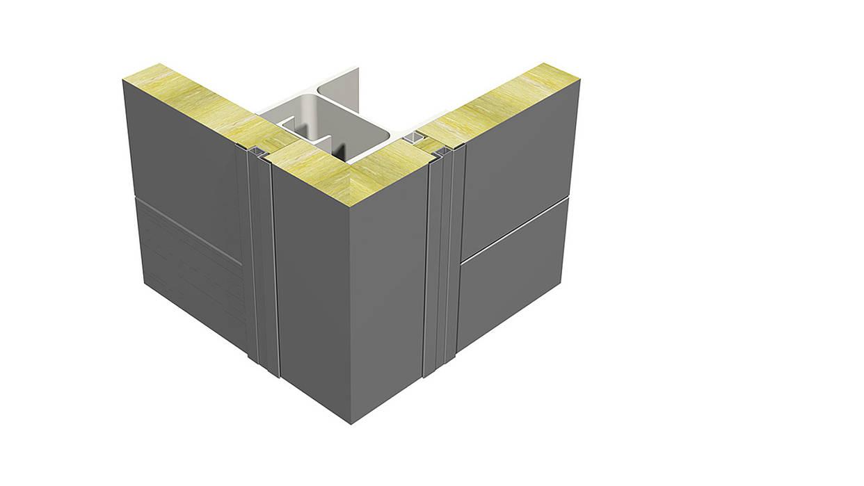 Corner elemet- Sharp-edged corner