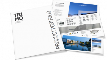 Refreshed Trimo Product Portfolio brochure